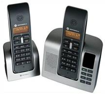 Motorola D212 Twin DECT Cordless Telephone with Answering Machine
